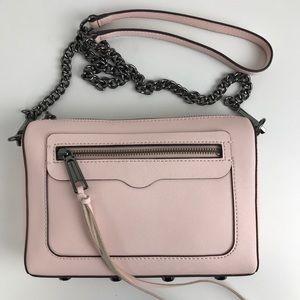 Rebecca Minkoff Blush Leather Avery Crossbody Bag